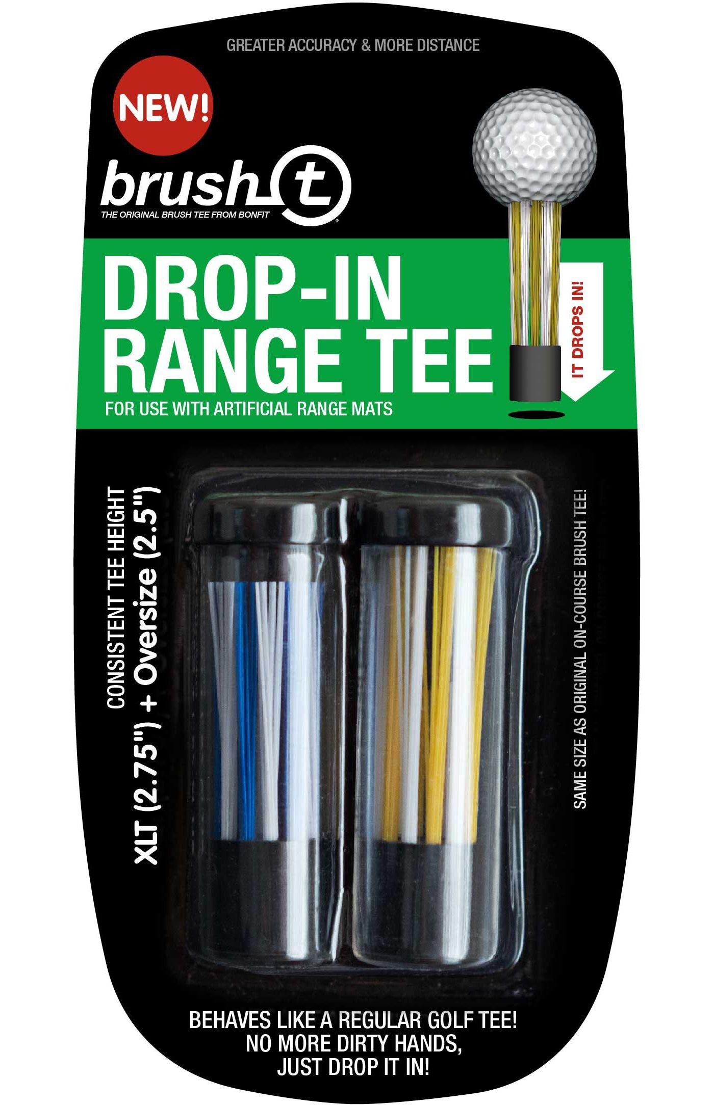 Brush-t Drop-In Range Assorted Golf Tees - 2 Pack