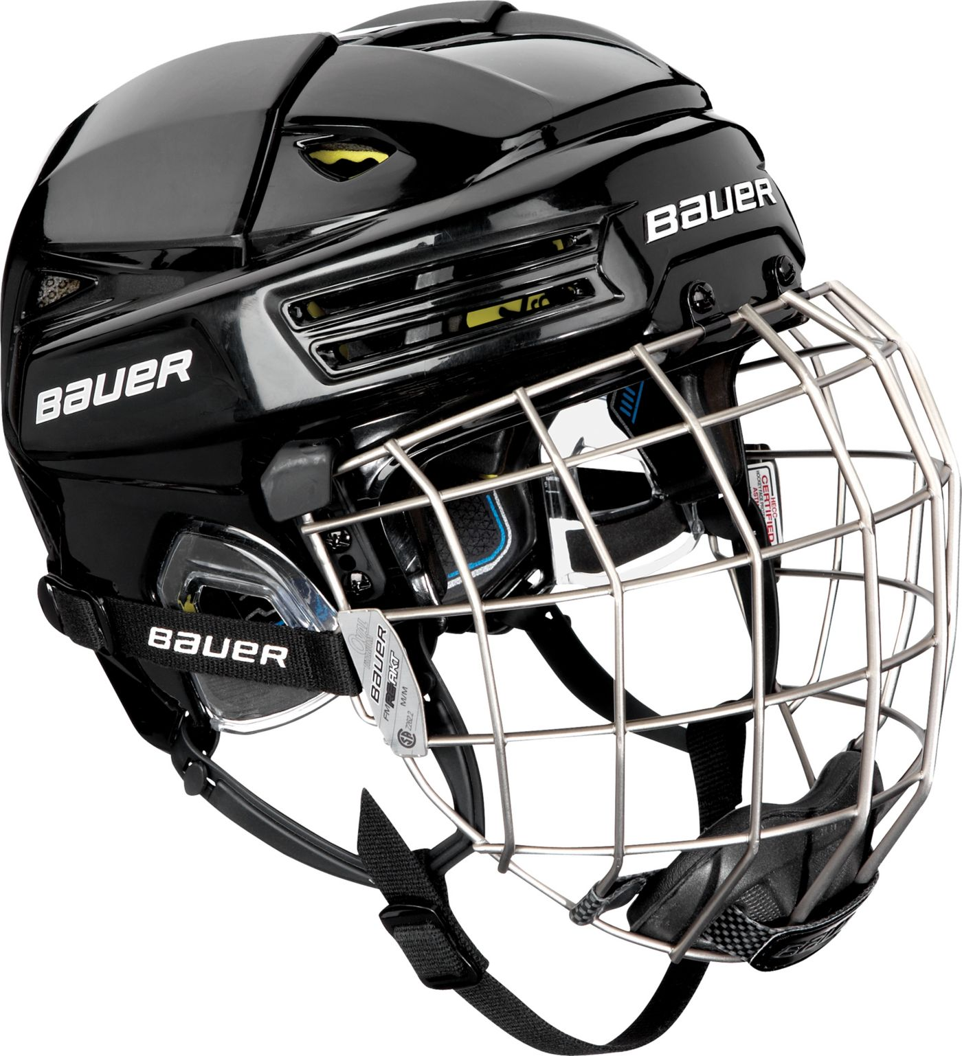 Bauer Senior RE-AKT 200 Ice Hockey Helmet Combo