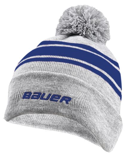 Bauer Senior New Era Team Striped Pom-Pom Beanie. noImageFound d365958355f