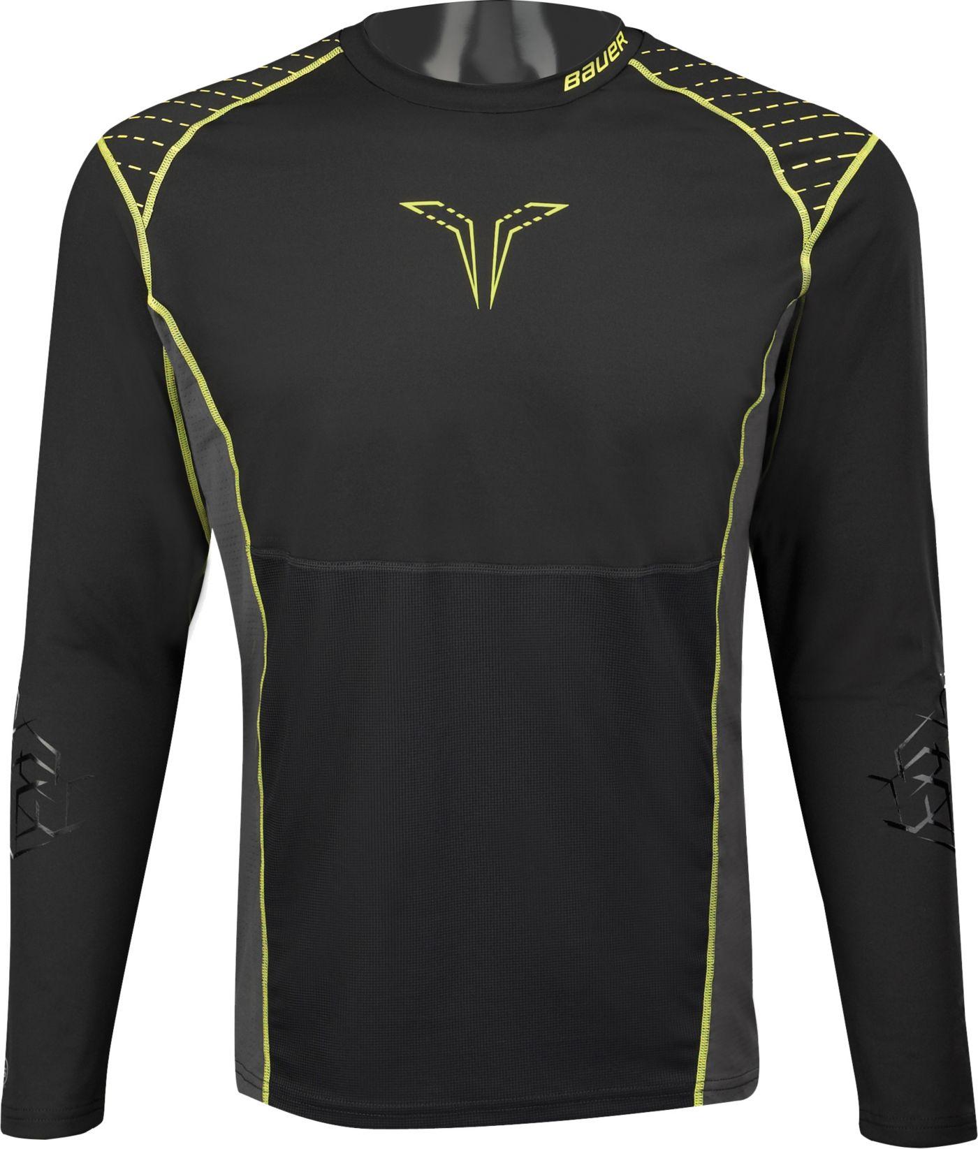 Bauer Senior Premium Grip Long Sleeve Hockey Shirt