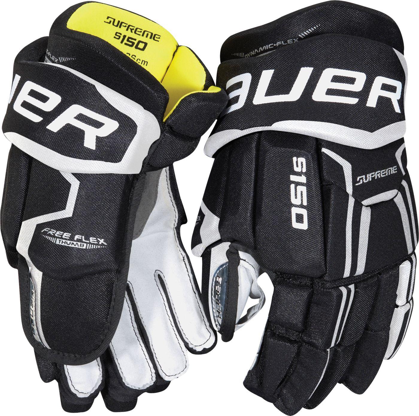 Bauer Junior Supreme S150 Ice Hockey Gloves