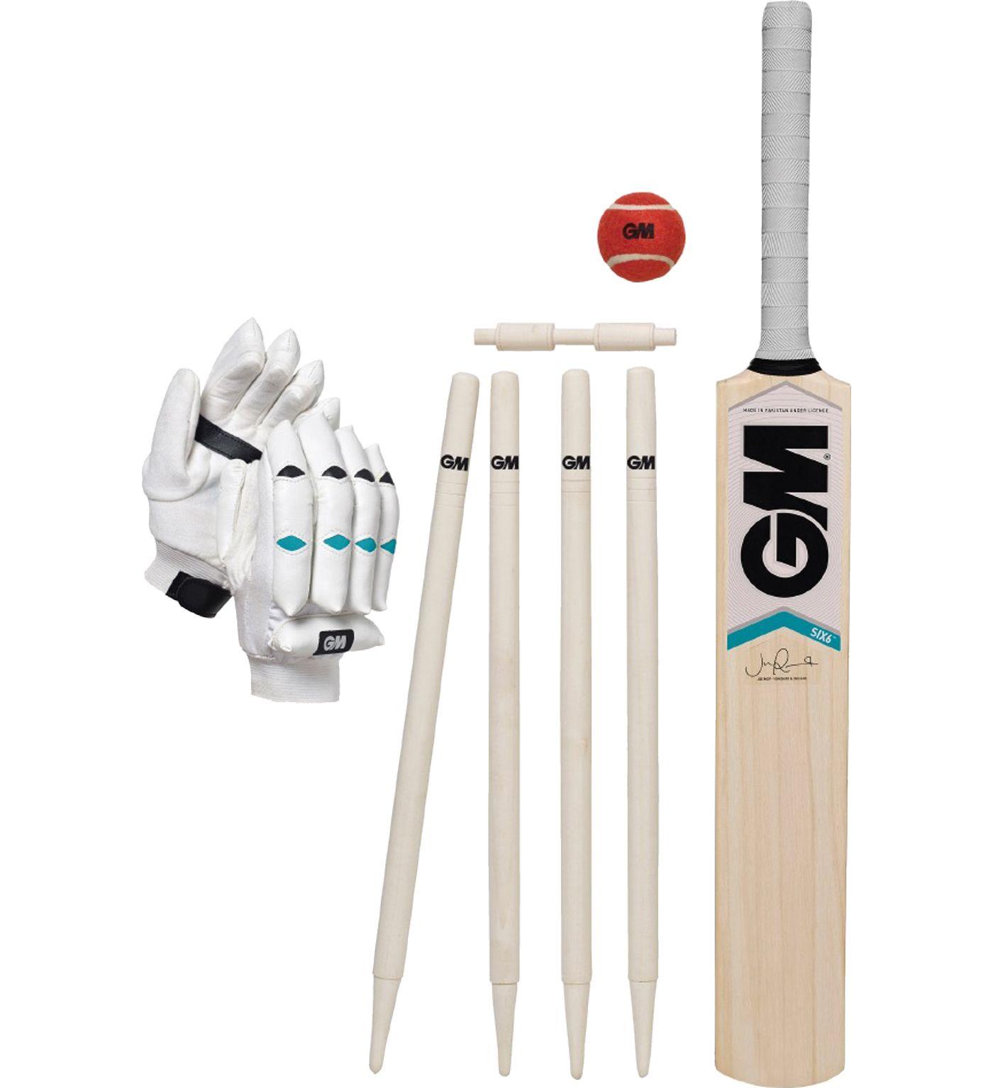 Gunn & Moore Youth Six6 Size 6 Cricket Bat Set