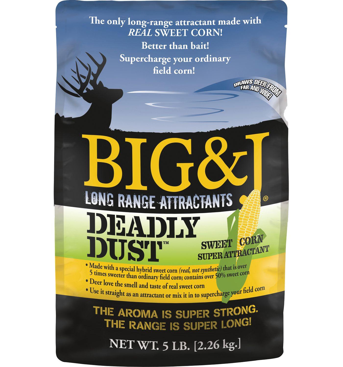 Big & J Deadly Dust Deer Attractant – 5 lbs