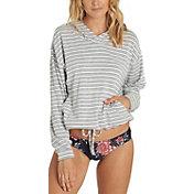 Billabong Women's Burning Sun Stripe Pullover Hoodie