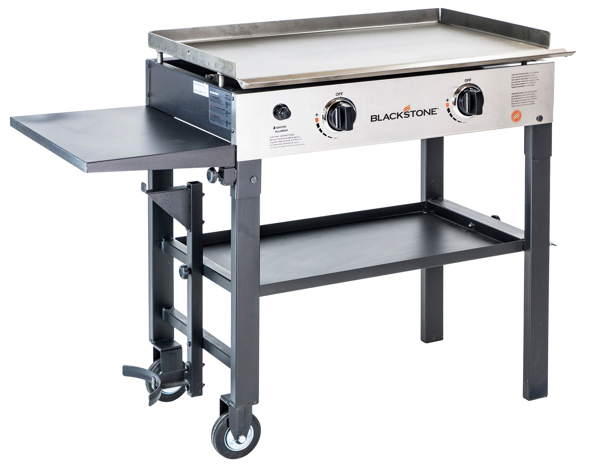Blackstone 28 Quot Griddle ~ Blackstone two burner stove with griddle dick s
