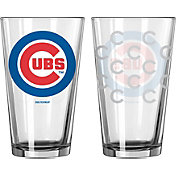 Boelter Chicago Cubs 16oz. Satin Etched Pint Glass