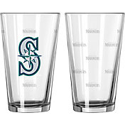 Boelter Seattle Mariners 16oz. Satin Etched Pint Glass