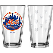 Boelter New York Mets 16oz. Satin Etched Pint Glass