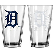 Boelter Detroit Tigers 16oz. Satin Etched Pint Glass