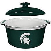 Boelter Michigan State Spartans Game Time 2.4qt Oven Ceramic Bowl