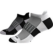 Brooks Ghost Midweight No Show Socks 2 Pack