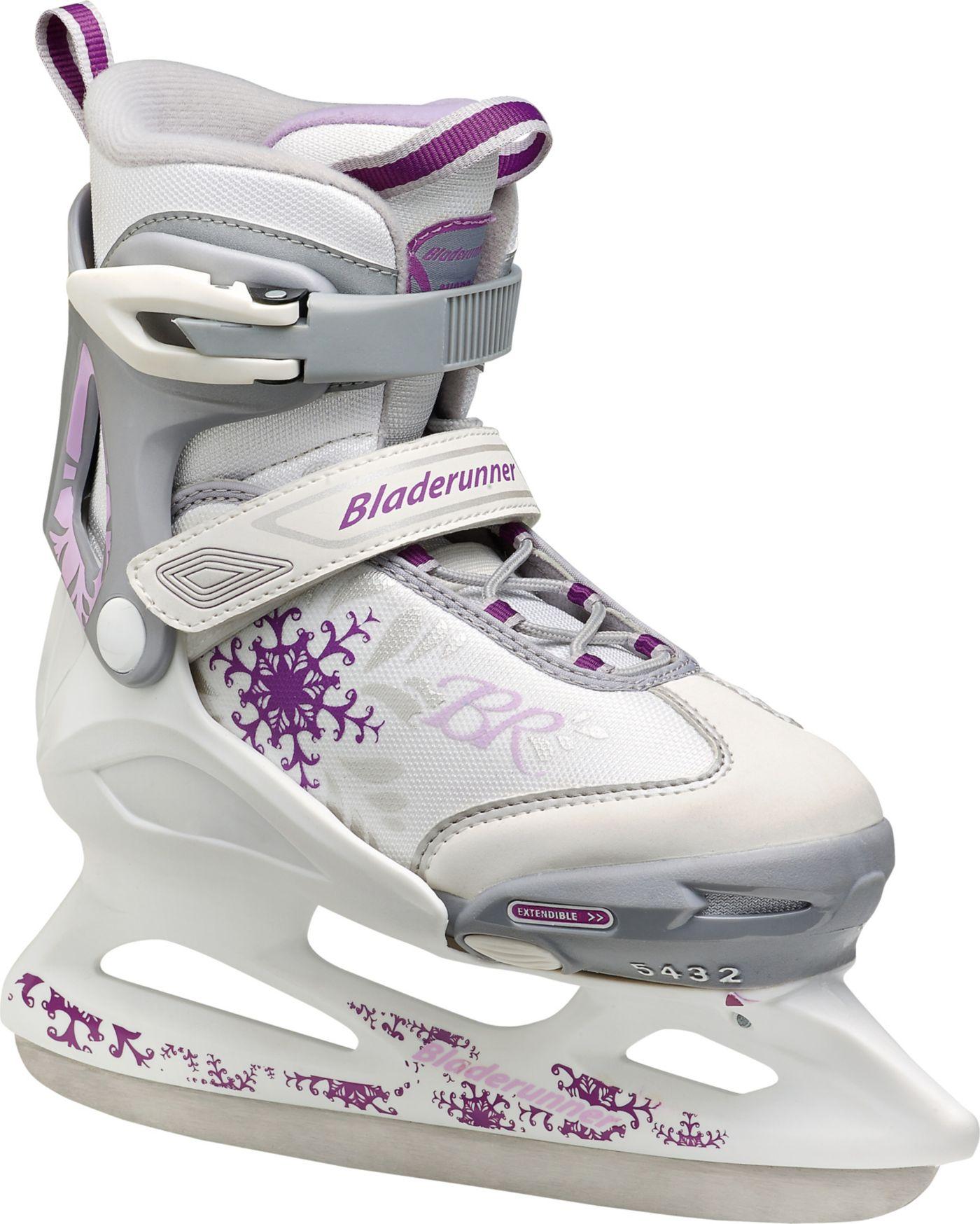 Rollerblade Girls' Bladerunner Micro Ice Skates