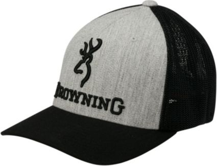 Browning Men's Branded Heather Flexfit Hat