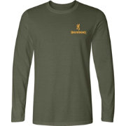 Browning Men's Cross Rifle Shield Long Sleeve Shirt