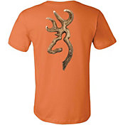 Browning Men's Antler Buckmark T-Shirt