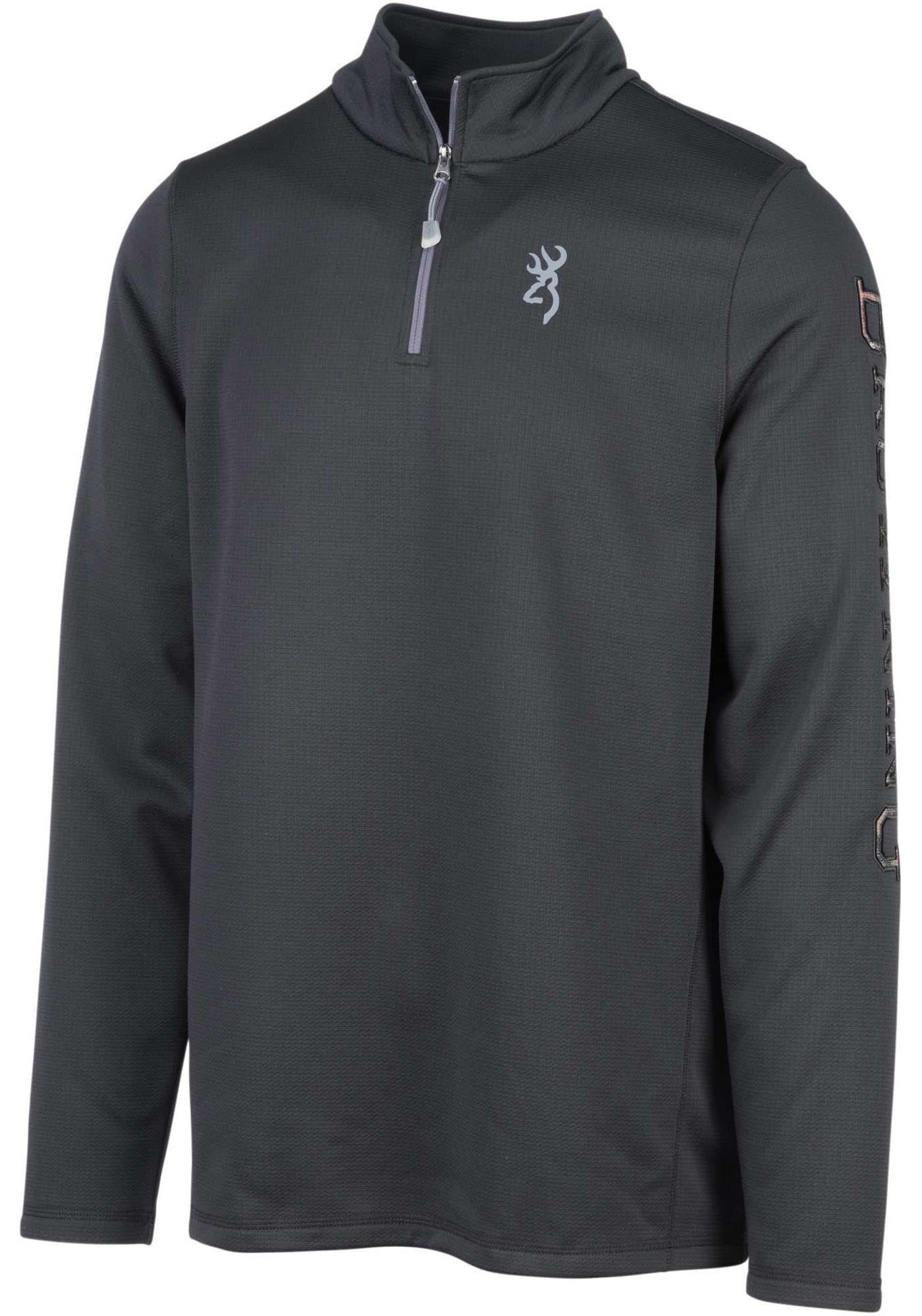 Browning Men's Pitch Quarter Zip Long Sleeve Shirt