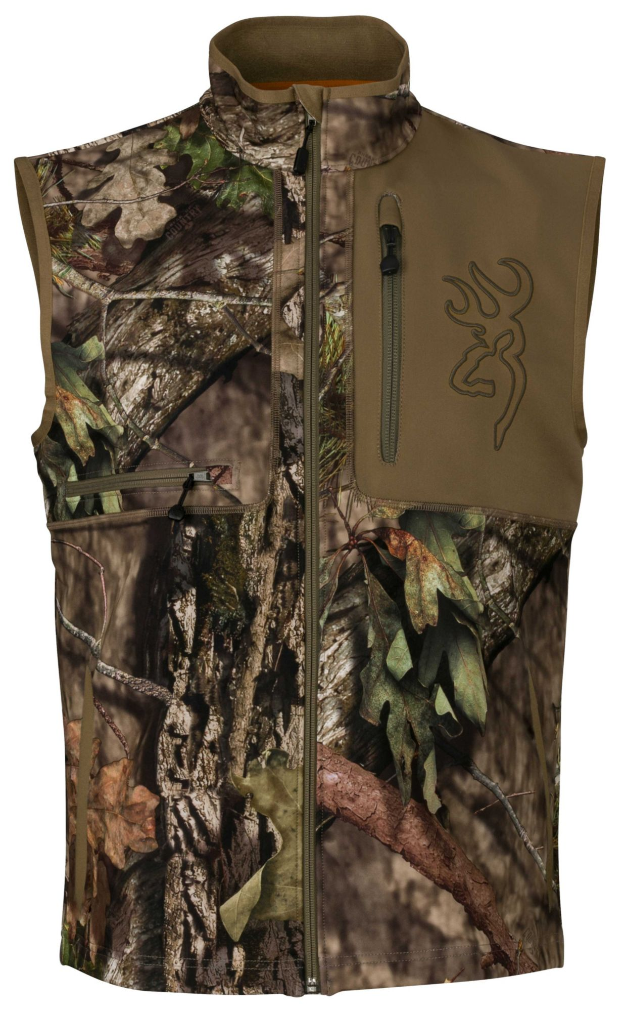 Browning Men's Hell's Canyon Mercury Hunting Vest, Size: XXL, Mossy Oak Brk-Up Country thumbnail