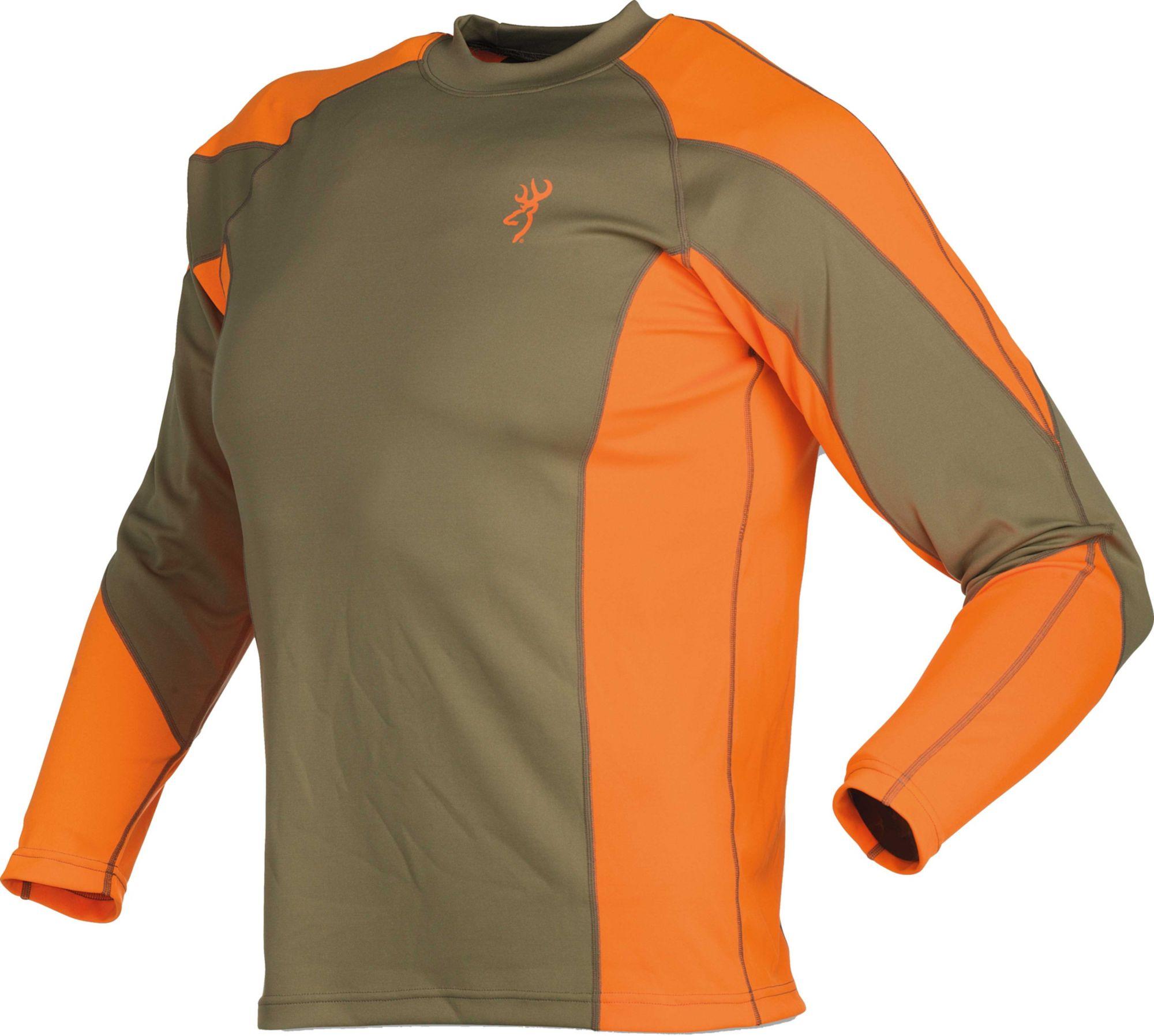 Browning NTS Upland Shirt, Men's, Size: Medium, Blaze Orange thumbnail