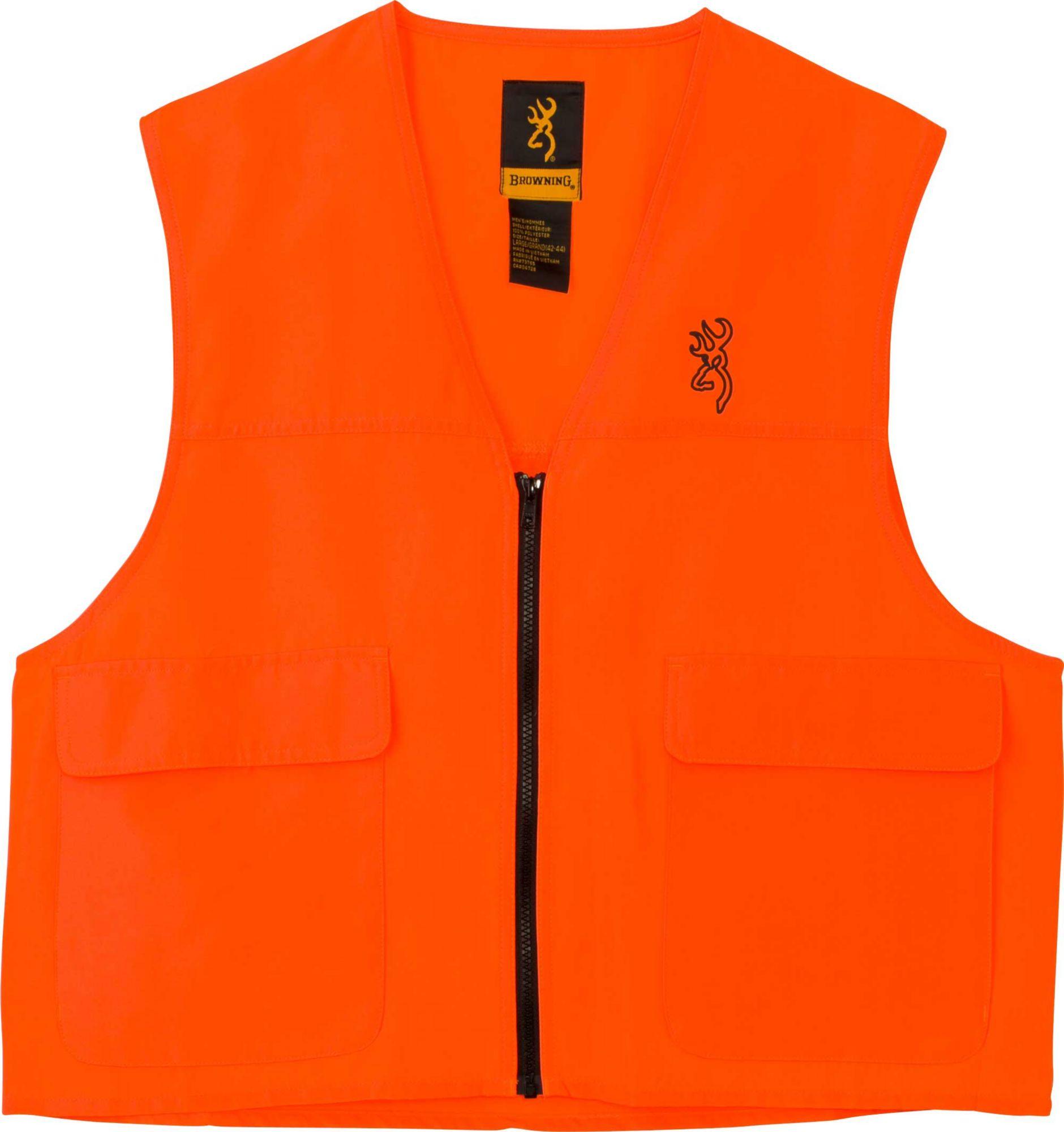 Browning Safety Blaze Hunting Vest, Men's, Size: Medium, Blaze Orange thumbnail