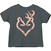 Browning Toddler Pink Buckheart T-Shirt