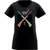 Browning Women's Crossed Rifles T-Shirt