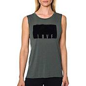 Betsey Johnson Women's Love Flocking Muscle Tank