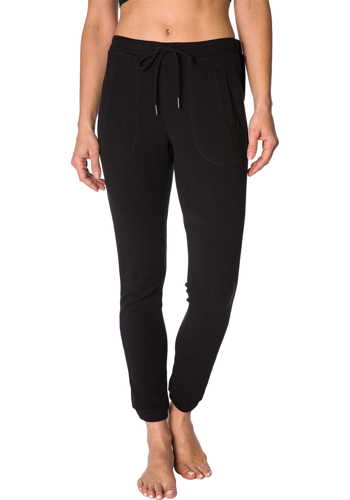 Betsey Johnson Performance Women's Skinny Velvet Trim Pants