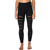 Betsey Johnson Performance Women's Slashed Front Ankle Legging