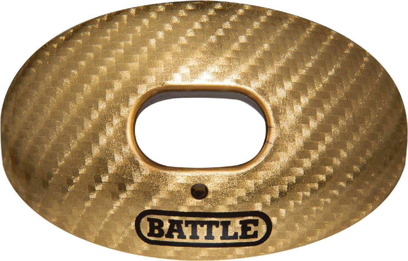 Battle Oxygen Carbon Chrome Oxygen Lip Guard Mouthguard