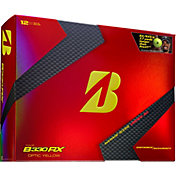 Bridgestone Tour B330-RX B Mark Optic Yellow Golf Balls – Limited Edition