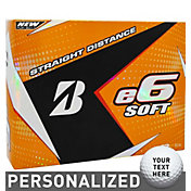 Bridgestone e6 SOFT Personalized Golf Balls