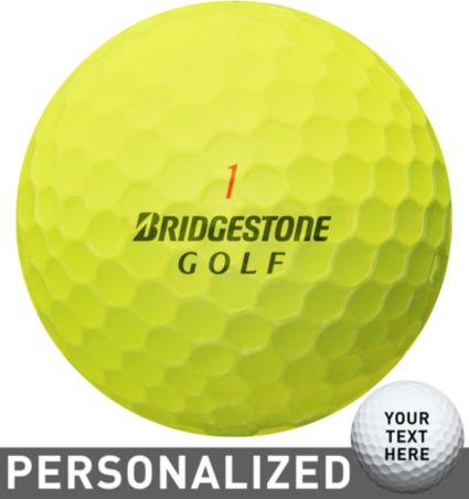 Bridgestone e6 SOFT Optic Yellow Personalized Golf Balls