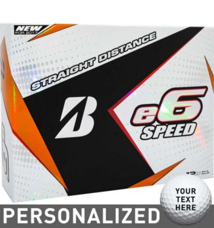 Bridgestone e6 SPEED Personalized Golf Balls