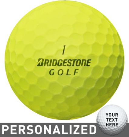 Bridgestone e6 SPEED Optic Yellow Personalized Golf Balls