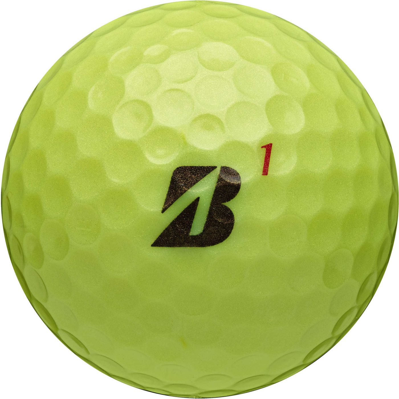 Bridgestone TOUR B RX Optic Yellow Golf Balls