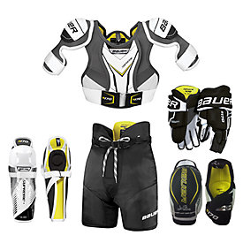 aec29449865 Bauer Youth Supreme S170 5-Piece Hockey Package
