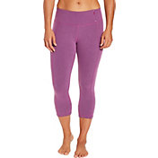 CALIA by Carrie Underwood Women's Essential Crossover Tight Fit Capris