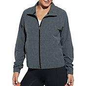 CALIA by Carrie Underwood Women's Heather Woven Full Zip Jacket