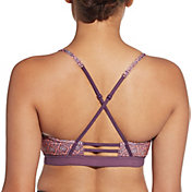 CALIA by Carrie Underwood Women's Inner Power Ladder Back Printed Sports Bra