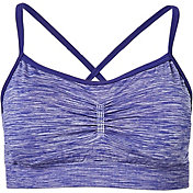 CALIA by Carrie Underwood Women's Heather Stretch Loop Back Sports Bra