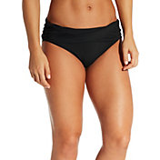 CALIA by Carrie Underwood Women's Overlap Bikini Bottoms