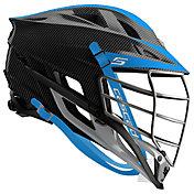 Cascade Custom S Carbon Fiber Lacrosse Helmet w/ Chrome Mask