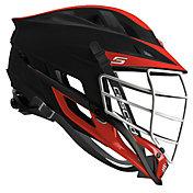 Cascade Custom S Matte Lacrosse Helmet w/ White Pearl Mask