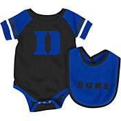 Colosseum Infant Duke Blue Devils Duke Blue Roll-Out Onsie And Bib Set