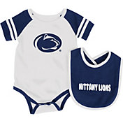 Colosseum Infant Penn State Nittany Lions Blue Roll-Out Onsie And Bib Set