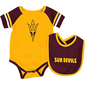 Colosseum Infant Arizona State Sun Devils Roll-Out Onsie And Bib Set