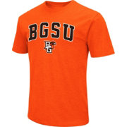 Colosseum Men's Bowling Green Falcons Orange Dual Blend T-Shirt