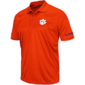 Colosseum Men's Clemson Tigers Orange Performance Polo