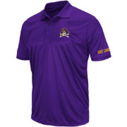 Colosseum Men's ECU Pirates Purple Performance Polo