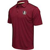 Colosseum Men's Florida State Seminoles Garnet Performance Polo